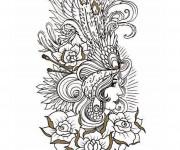 Coloriage et dessins gratuit Tatouage Image à imprimer