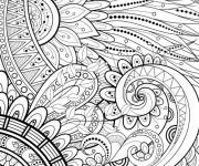 Coloriage Tatouage relaxant