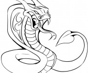 Coloriage Tatouage Serpent