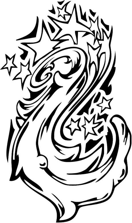 Coloriage et dessins gratuits Tatouage thérapeutique à imprimer