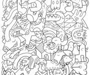 Coloriage et dessins gratuit Adulte 30 à imprimer