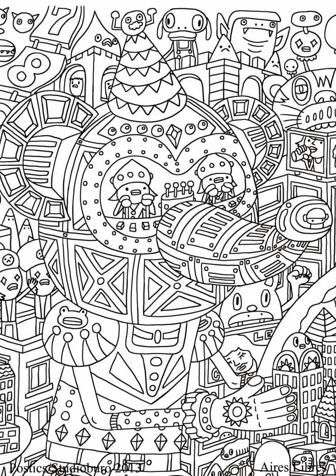 Coloriage et dessins gratuits Adulte Noel maternelle à imprimer