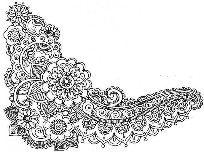 Coloriage et dessins gratuits Art Anti-Stress pour relaxation à imprimer