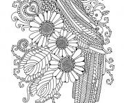 Coloriage et dessins gratuit Art Thérapie à imprimer