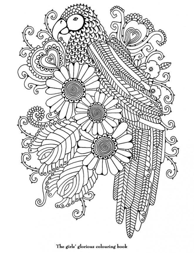 Coloriage et dessins gratuits Art Thérapie à imprimer