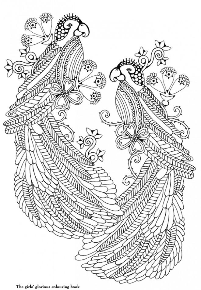 Coloriage et dessins gratuits Art Thérapie magique à imprimer