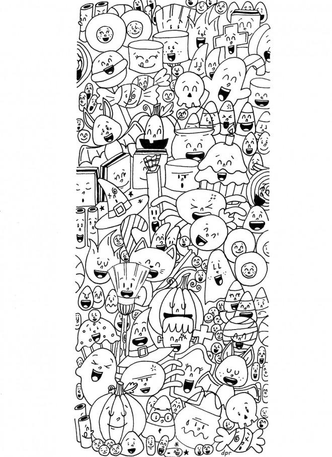 Coloriage et dessins gratuits Inspiration Zen à imprimer