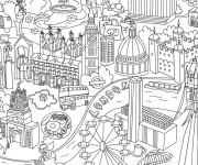 Coloriage et dessins gratuit Magasin Thérapeutique à imprimer