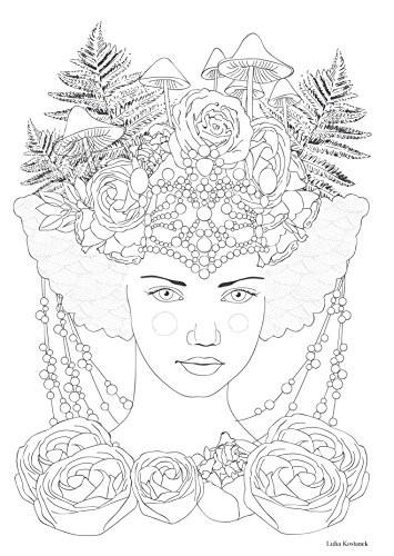 Coloriage et dessins gratuits Thérapeutique Femme extraordinaire à imprimer