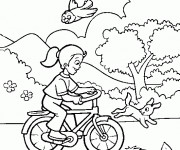 Coloriage Bicyclette 74