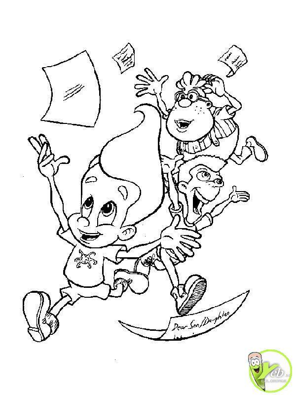 Coloriage et dessins gratuits L'école ferme les Vacances commencent à imprimer