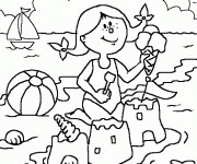 Coloriage Maternelle Ete 12