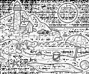 Coloriage dessin  Maternelle Ete 27
