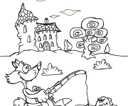 Coloriage dessin  Maternelle Ete 36