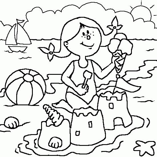 Coloriage et dessins gratuits Vacance Été à imprimer