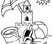 Coloriage et dessins gratuit Vacances 2 à imprimer