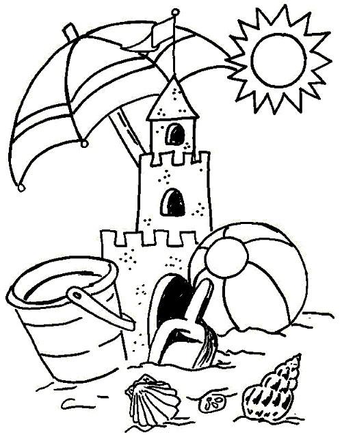 Coloriage et dessins gratuits Vacances 2 à imprimer