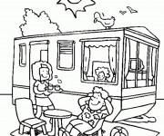Coloriage et dessins gratuit Vacances couleur à imprimer