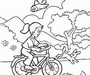 Coloriage et dessins gratuit Vacances Printemps à imprimer