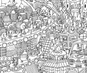 Coloriage dessin  Anti-Stress 37