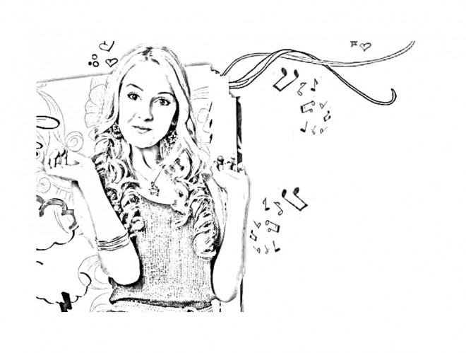 Coloriage et dessins gratuits Camilla Disney à imprimer