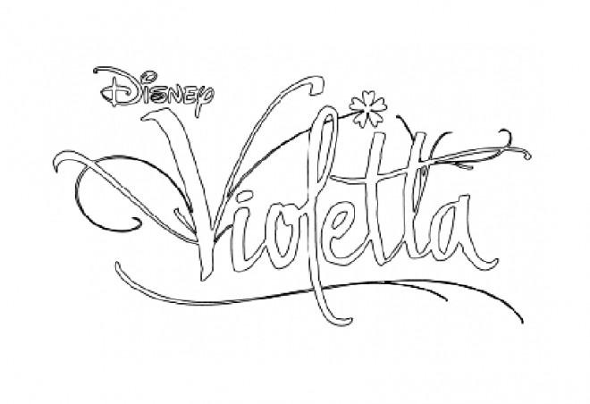 Coloriage et dessins gratuits Violetta Disney facile à imprimer