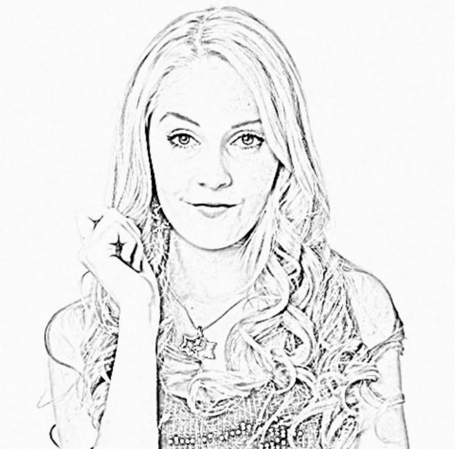 Coloriage et dessins gratuits Violetta en ligne à imprimer