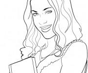 Coloriage et dessins gratuit Violetta facile à imprimer
