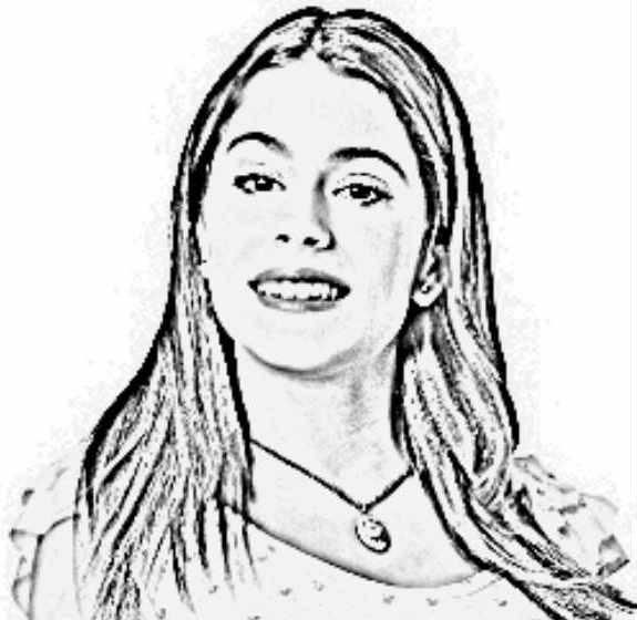 Coloriage et dessins gratuits Violetta pour Fille à imprimer