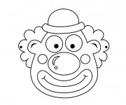 Coloriage dessin  Clowns 4