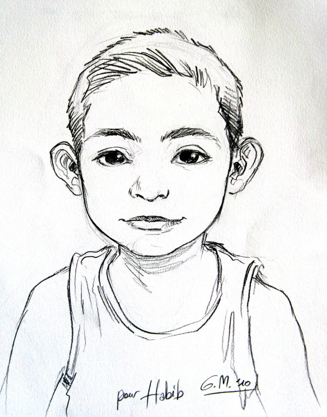 Coloriage et dessins gratuits Un Portrait de Garçon à imprimer