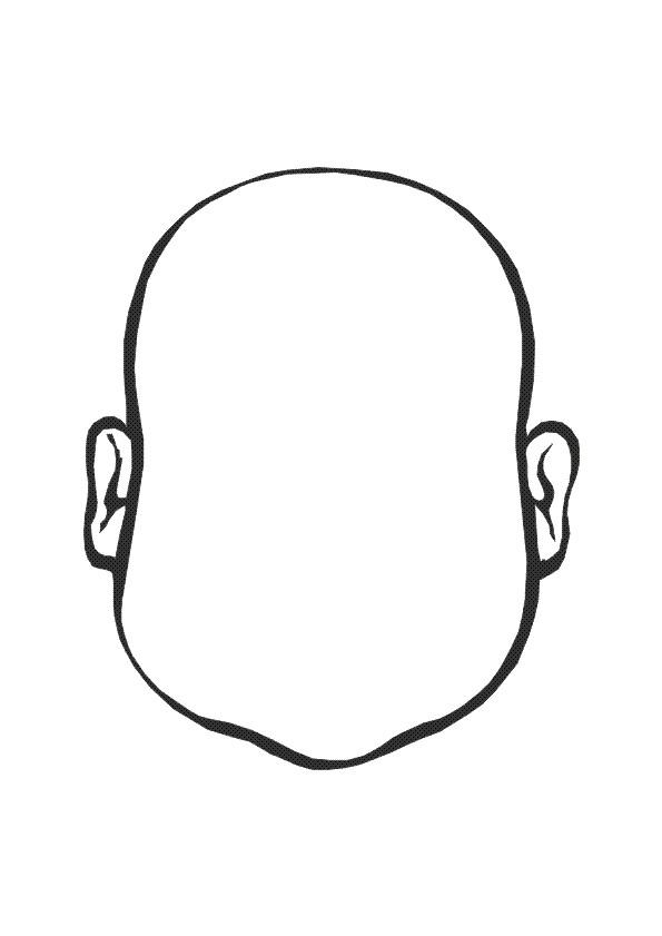 Coloriage visage compl ter dessin gratuit imprimer - Coloriage visage ...
