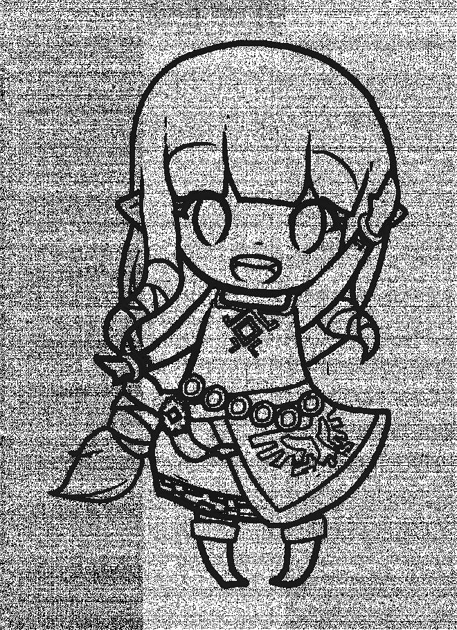Coloriage et dessins gratuits Princesse Zelda à imprimer