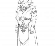 Coloriage dessin  Zelda 2
