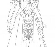 Coloriage dessin  Zelda 4