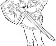 Coloriage dessin  Zelda 5