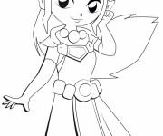 Coloriage et dessins gratuit Zelda Dessin Animé à imprimer