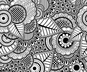 Coloriage Anti-Stress Difficile