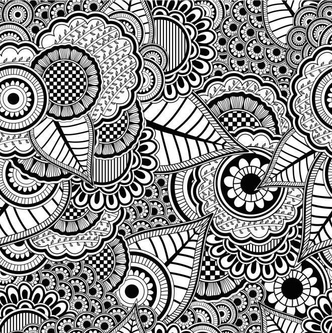 Coloriage Zen Difficile.Coloriage Anti Stress Difficile Dessin Gratuit A Imprimer