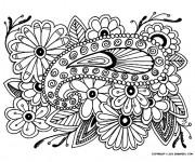 Coloriage et dessins gratuit Des Roses Adultes à imprimer