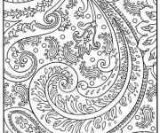 Coloriage et dessins gratuit Psychédélique Arbre à imprimer