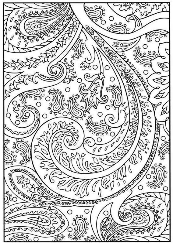 Coloriage et dessins gratuits Psychédélique Arbre à imprimer