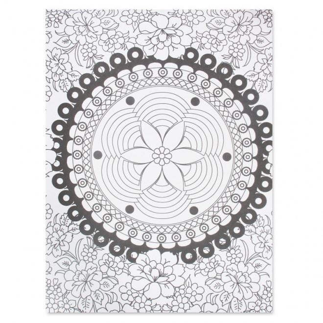 Coloriage et dessins gratuits Zen à découper à imprimer