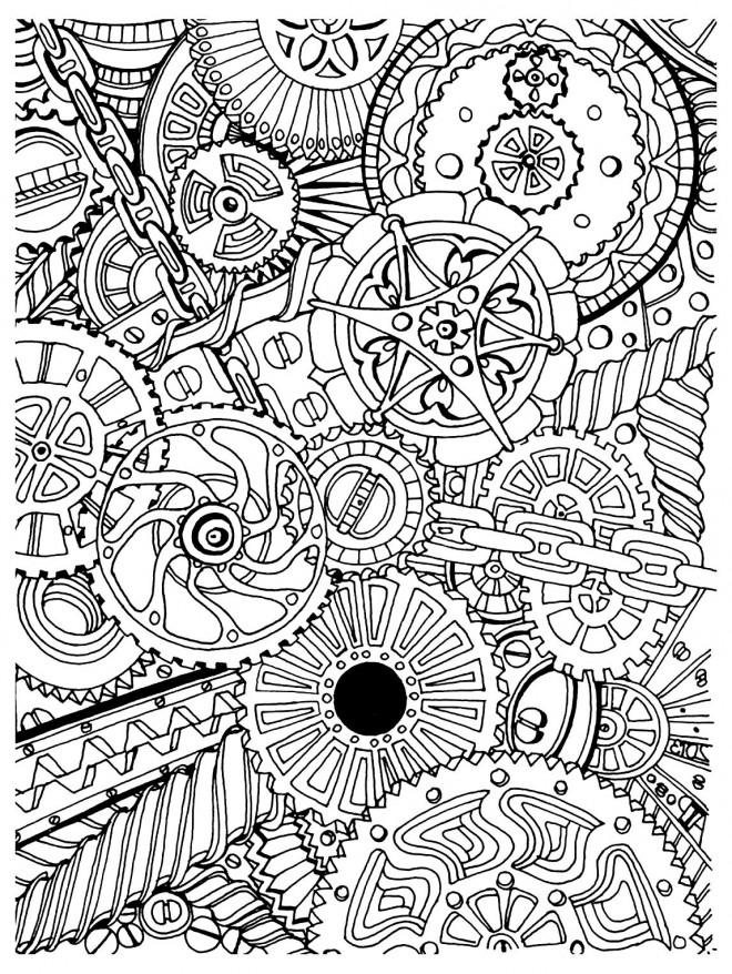 Coloriage et dessins gratuits Zen en Ligne à imprimer