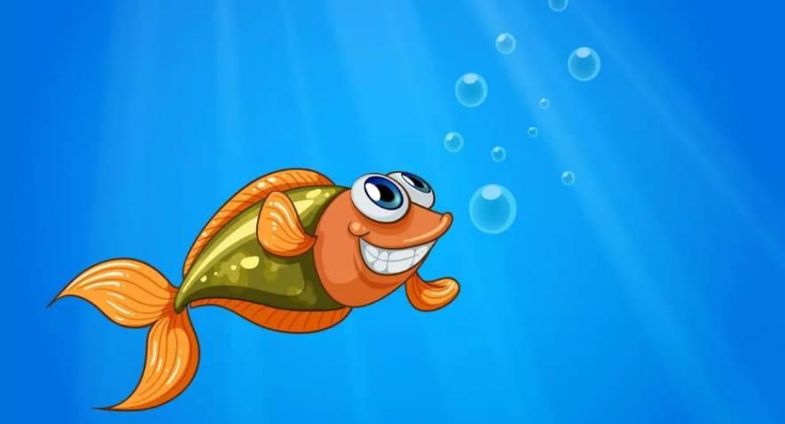 Comptine Un poisson au fond d'un étang: