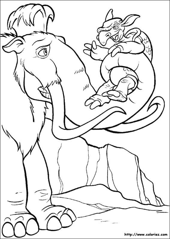 Coloriage et dessins gratuits Age de Glace 60 à imprimer