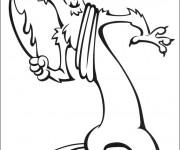 Coloriage Buck: Age de Glace