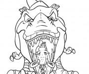 Coloriage et dessins gratuit Le dinosaure: Age de Glace à imprimer