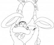 Coloriage et dessins gratuit Manny sauve la vie d'un enfant à imprimer