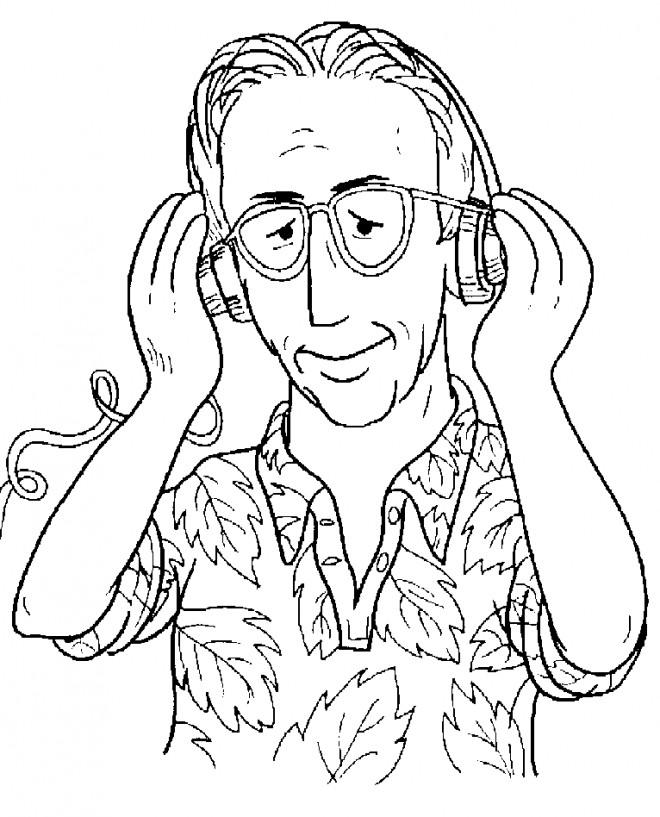 Coloriage et dessins gratuits Alf: Willy Tanner à imprimer